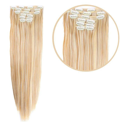 Extension cheveux meche blond avec clips
