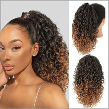 Bild in Galerie hochladen, Curly Ponytail | Faux lockiges Haar