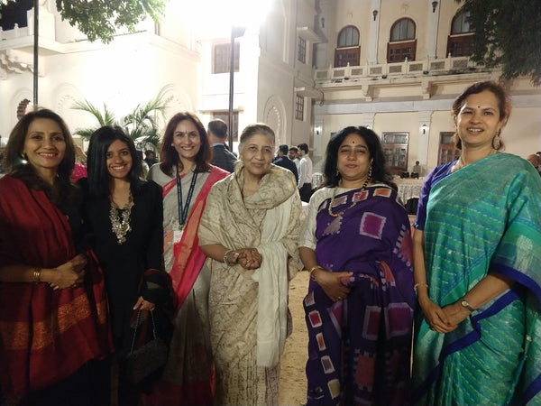 Royal Textiles of India-5th Walking hand in Hand event. Lukshmi Vilas palace Baroda, Jan 2020
