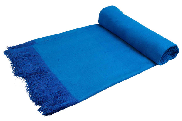 Ereena Eri Silk Aiiro throws – EXTWI17-02(AIIRO)