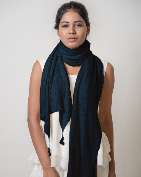 Ereena Knit Double Delight Stole EFPAN- 12A