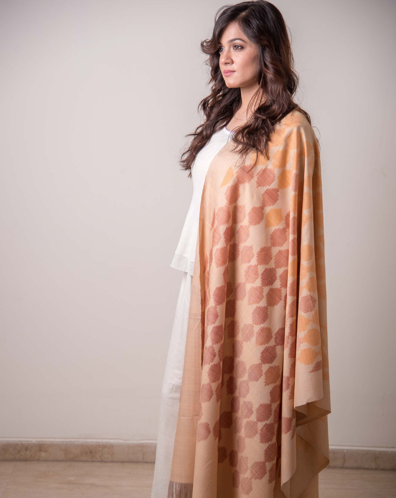 Ereena Ikat Chitiki  - Mother Earth Shawl EFPZSTV-014