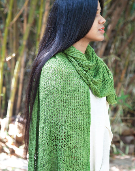 Ereena Knit Dream Catcher Stole EFPAN-02