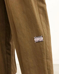 JieDa /RAYON 2TUCK TAPERED PANTS(KHAKI)