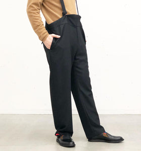 Sasquatchfabrix. / SUSPENDER SLACKS (BLACK)