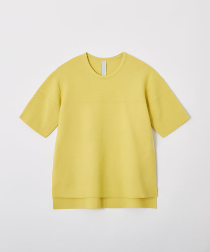 CFCL / GARTER HALF SLEEVE T (YELLOW)