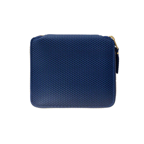CdG Wallet / LUXURY LEATHER WALLET(BLUE)