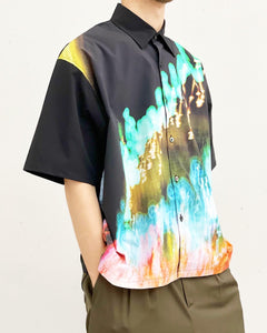 JieDa / SHUN KOMIYAMA PHOTO SHIRT (BLACK)