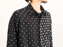 UJOH /FULL OPEN SHIRT (BLACK )