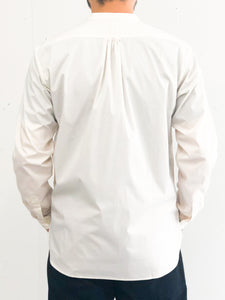 【10%OFF】ASEEDONCLOUD / HW Collarless shirt (WHITE)