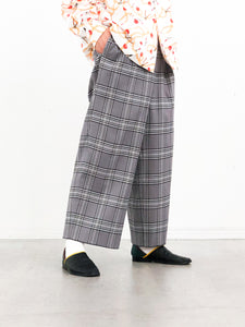 DIGAWEL / SIDE ADJUST PANTS② (GLEN CHECK)