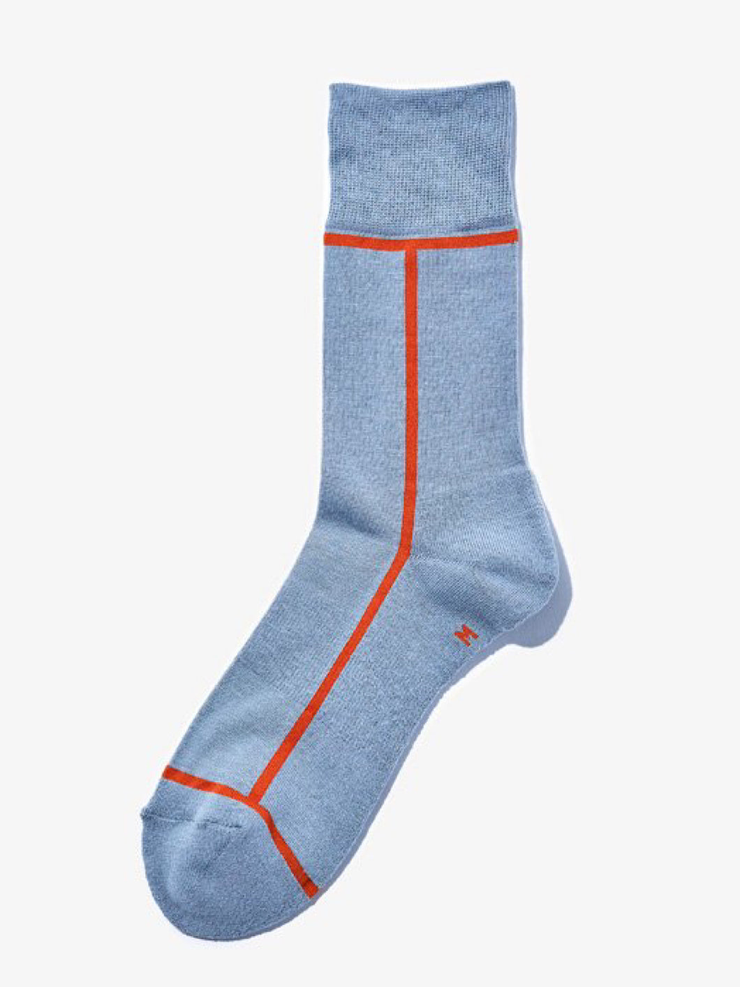 CHICSTOCKS /  LINE SOCKS(SHADOW BLUE×ORANGE)