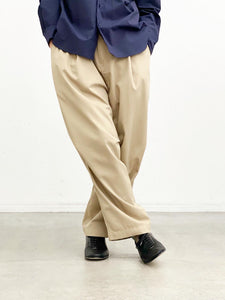 【20%OFF】WEWILL / BUGGY SLACKS(BEIGE)