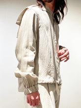 by H / ANORAK SHIRT (BEIGE)