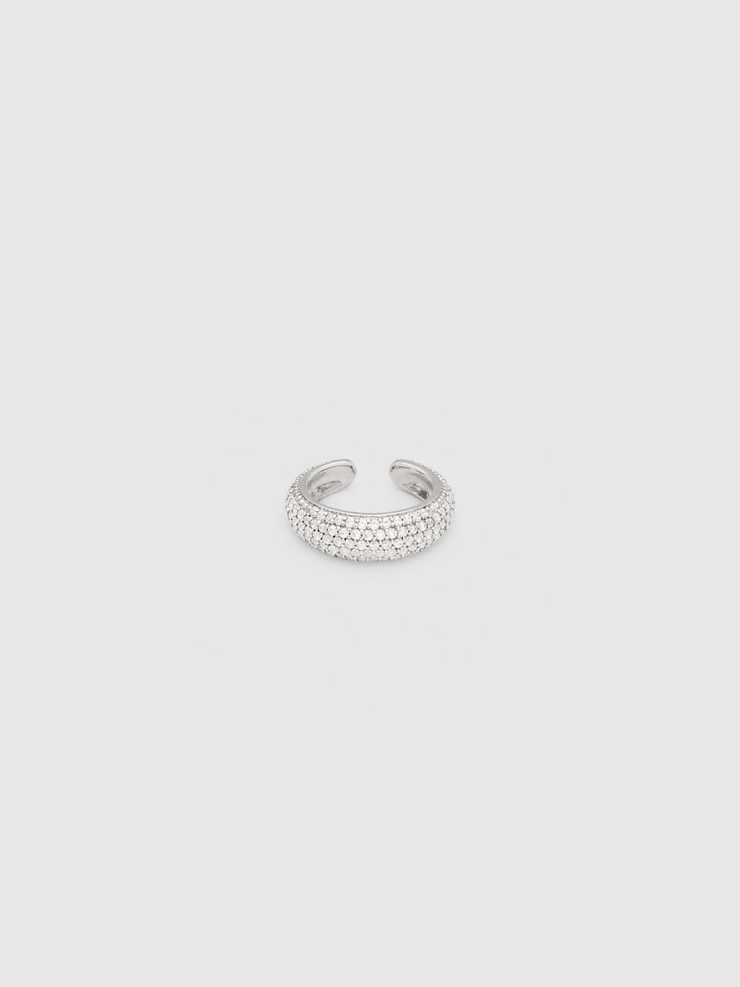 TOMWOOD / EAR CUFF THICK ZIRCONIA (SILVER)