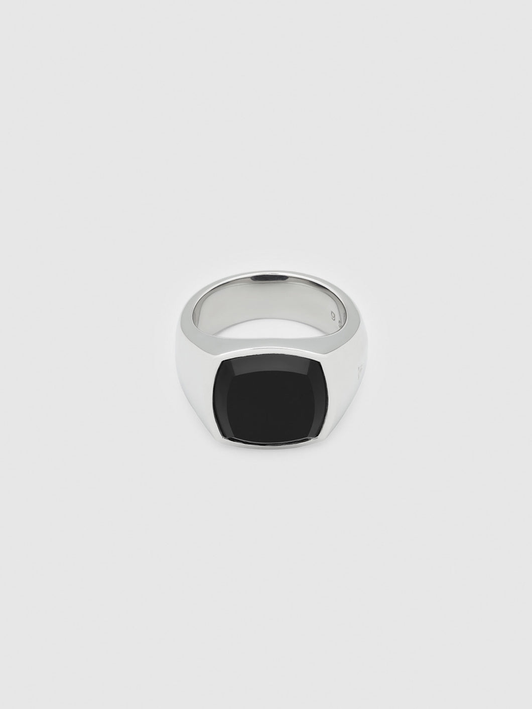 TOMWOOD / Shelby Ring Polished Black Onyx