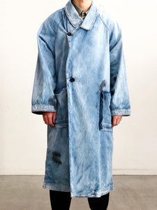 【20%OFF】my beautiful landlet / 8oz DENIM OVER COAT(USED)