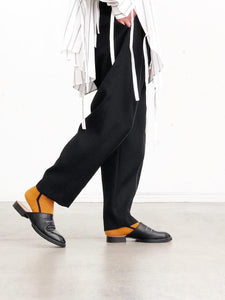 UJOH / SWITCH TAPERED PANTS(BLACK)