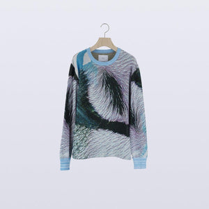 HATRA / Syn Feather Sweater (HALCYON)