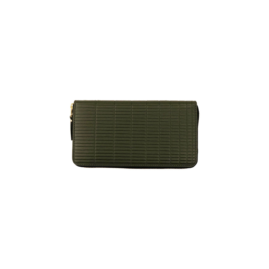 CdG Wallet / BRICK LINE LONG WALLET(KHAKI)