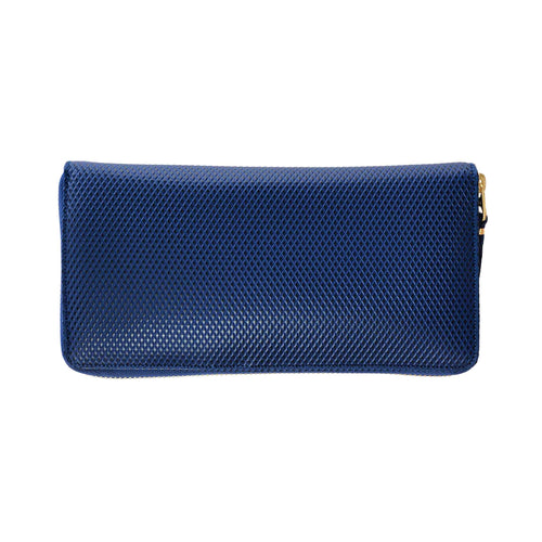 CdG Wallet / LUXURY LEATHER LONG WALLET(BLUE)