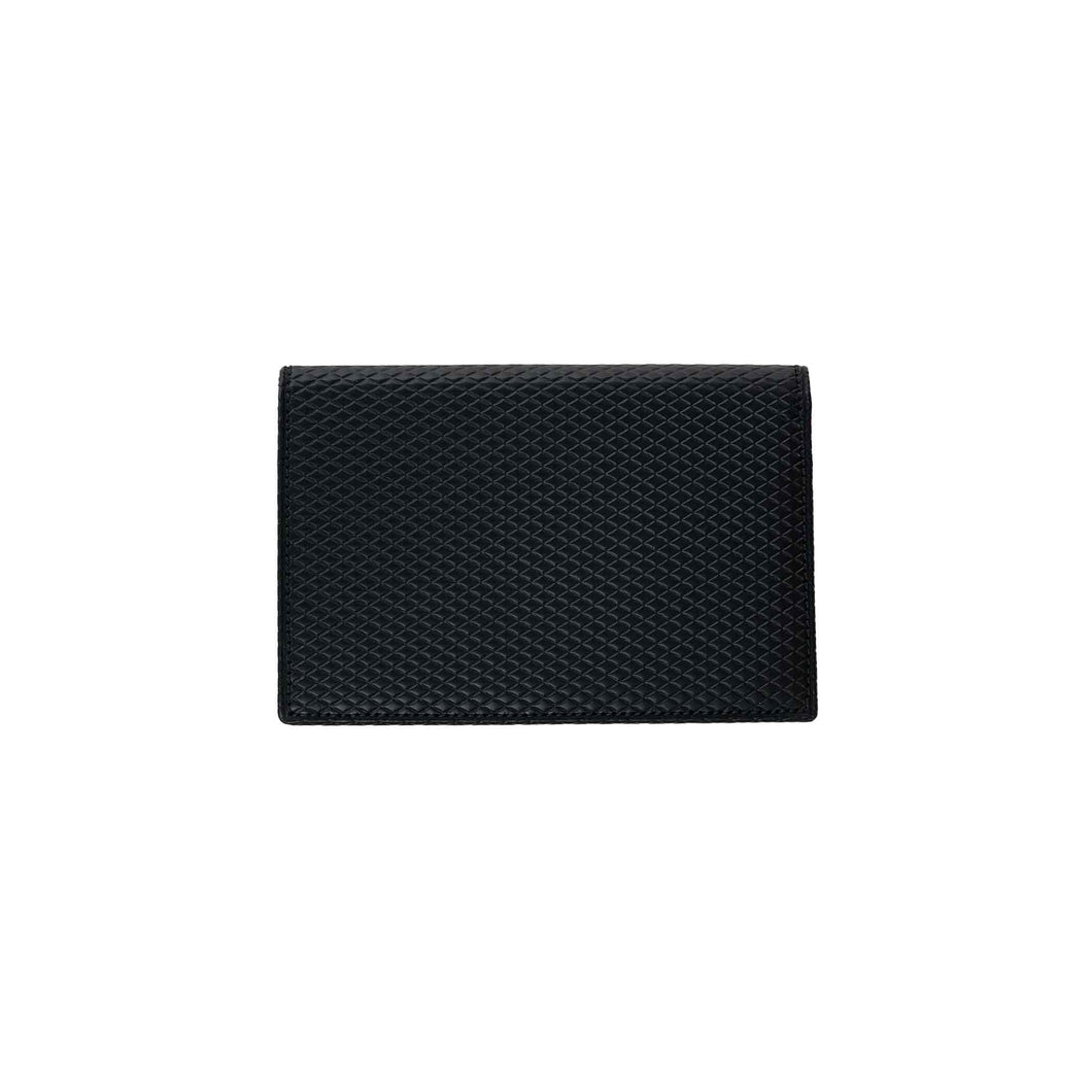 CdG Wallet / LUXURY LEATHER CARD CASE(BLACK)
