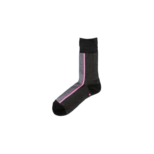 CHICSTOCKS / CENTER LINE SOCKS(NEON PINK)