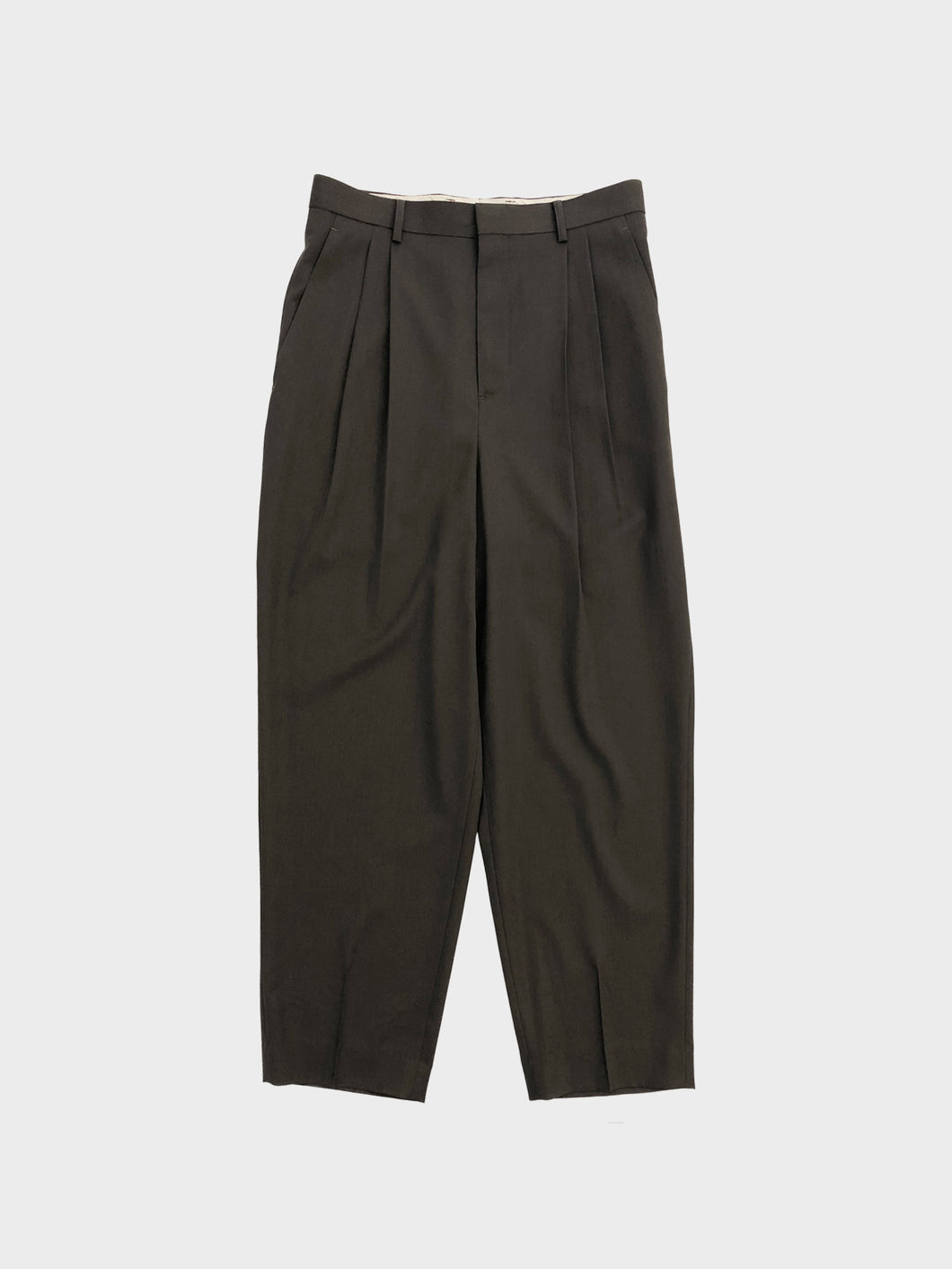 DIGAWEL / 2Tuck Tapered Pants② (OLIVE)