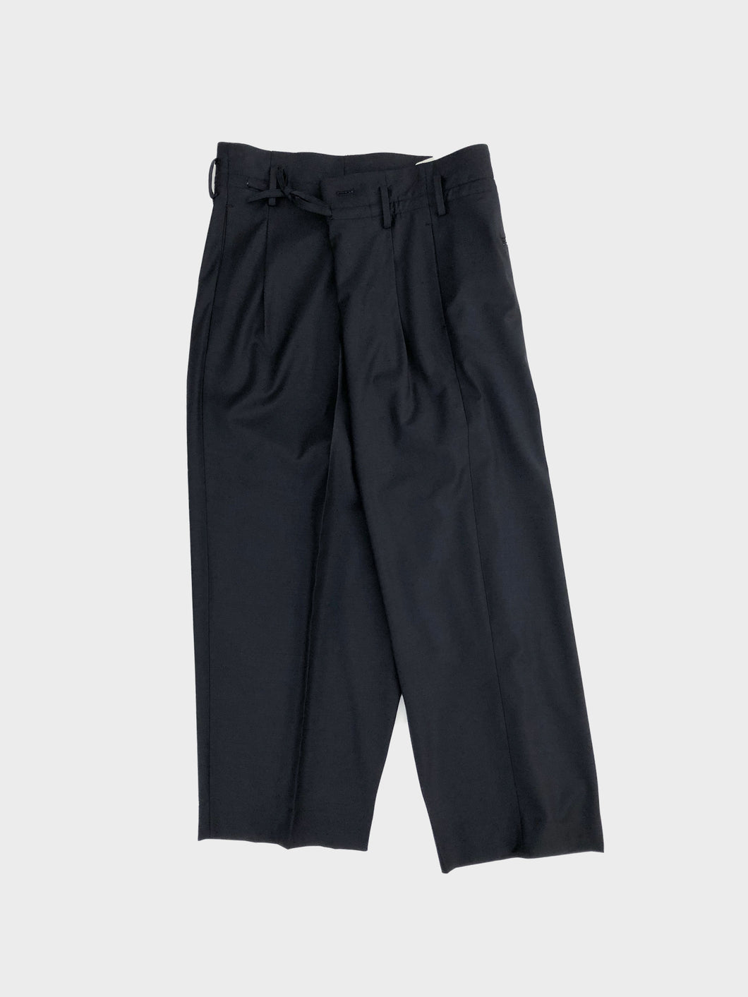 MAISON EUREKA / WRAP PANTS (BLACK)