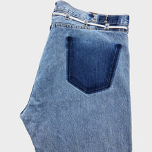 MAISON EUREKA / VINTAGE REWORK BIGGY PANTS (BLUE) #EUPT03