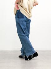 MAISON EUREKA / VINTAGE REWORK BIGGY PANTS (BLUE) #EUPT10