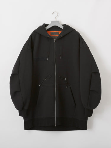 FUMITO GANRYU  /Mods tech fleece parker(BLACK)
