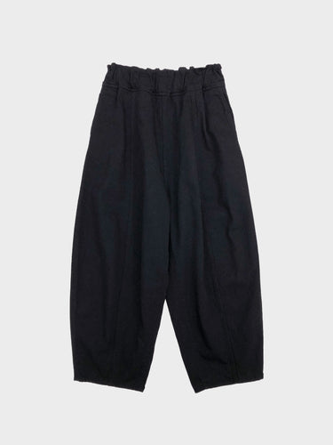 FIRMUM / GARMENT WASHED RUGBY PANTS (BLACK)