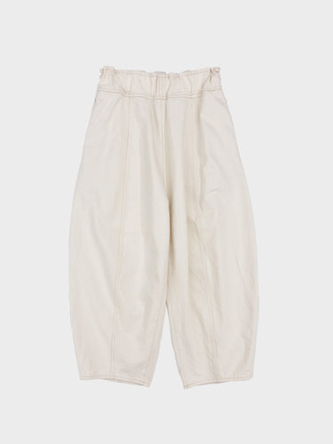 FIRMUM / GARMENT WASHED RUGBY PANTS (NATURAL)