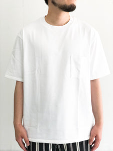 MXP / BIG TEE WITH POCKET(WHITE)