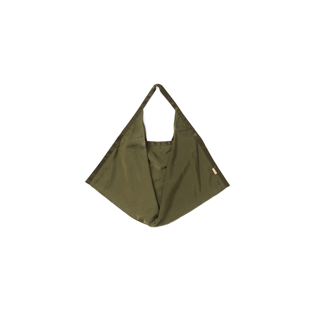 Hender Scheme / origami bag small(OLIVE)