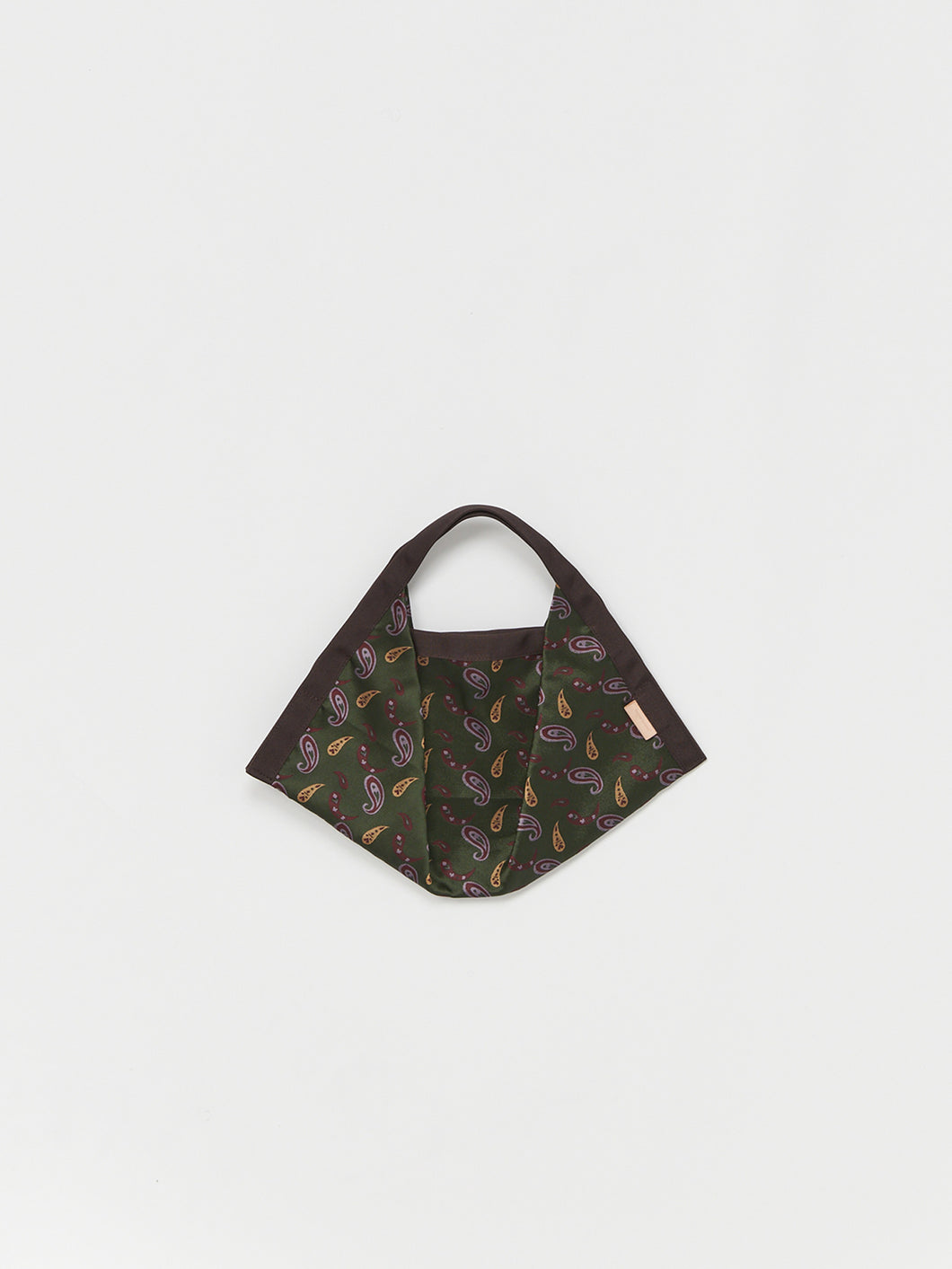 Hender Scheme / origami bag small (PAISLEY)