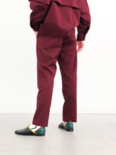 【30%OFF】 JieDa / GABARDINE TUCK SLACKS (BURGUNDY)