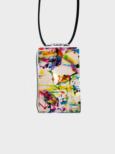 macromauro / See through OBAL BAG SMALL(PAINT WH) #02