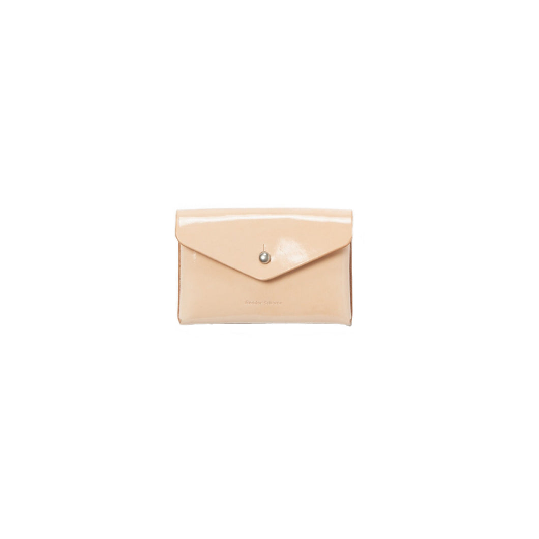 Hender Scheme / one piece card case(PATENT NATURAL)