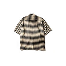 Sasquatchfabrix. / BLOCK CHECK H/S SHIRT (BLACK CHECK)