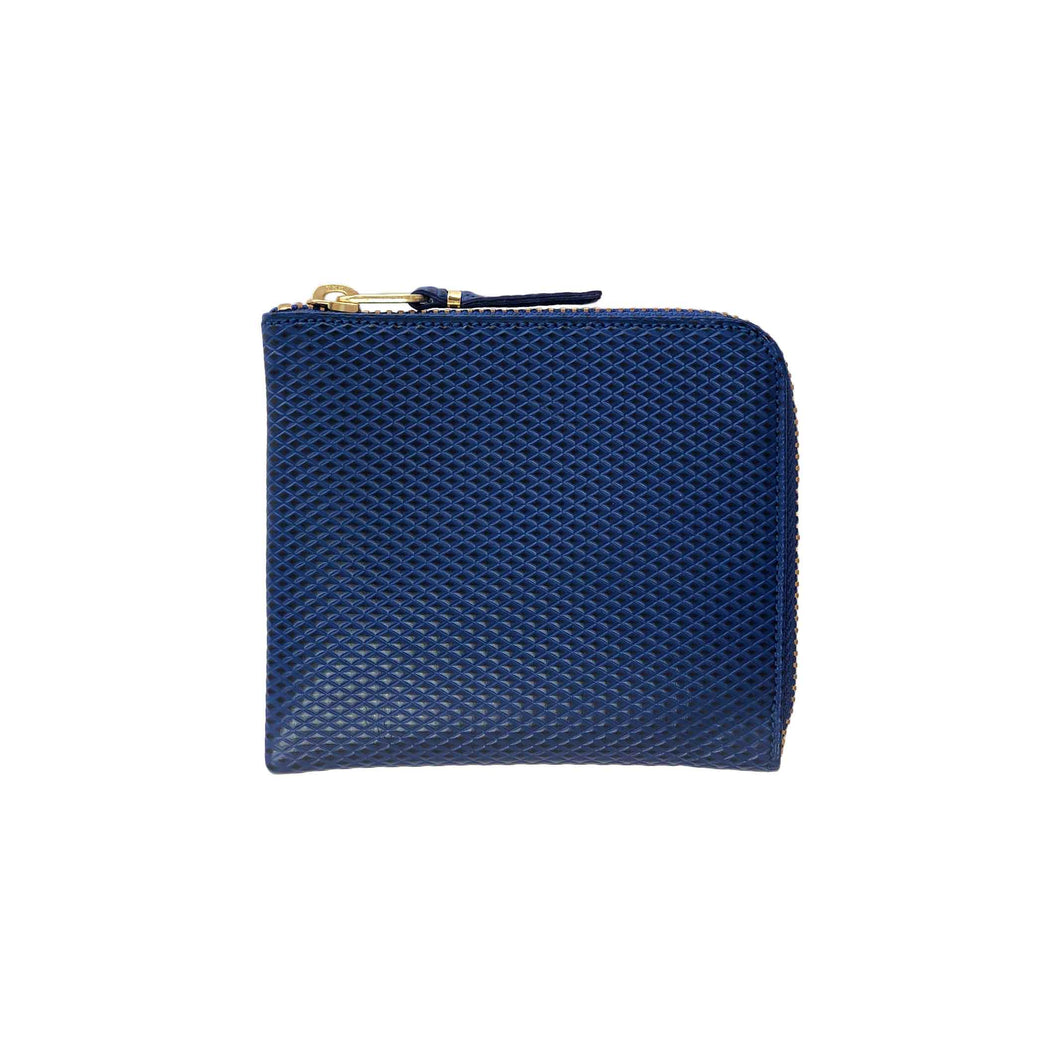 CdG Wallet / LUXURY LEATHER COIN CASE(BLUE)
