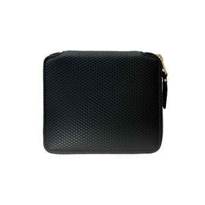 CdG Wallet / LUXURY LEATHER WALLET(BLACK)