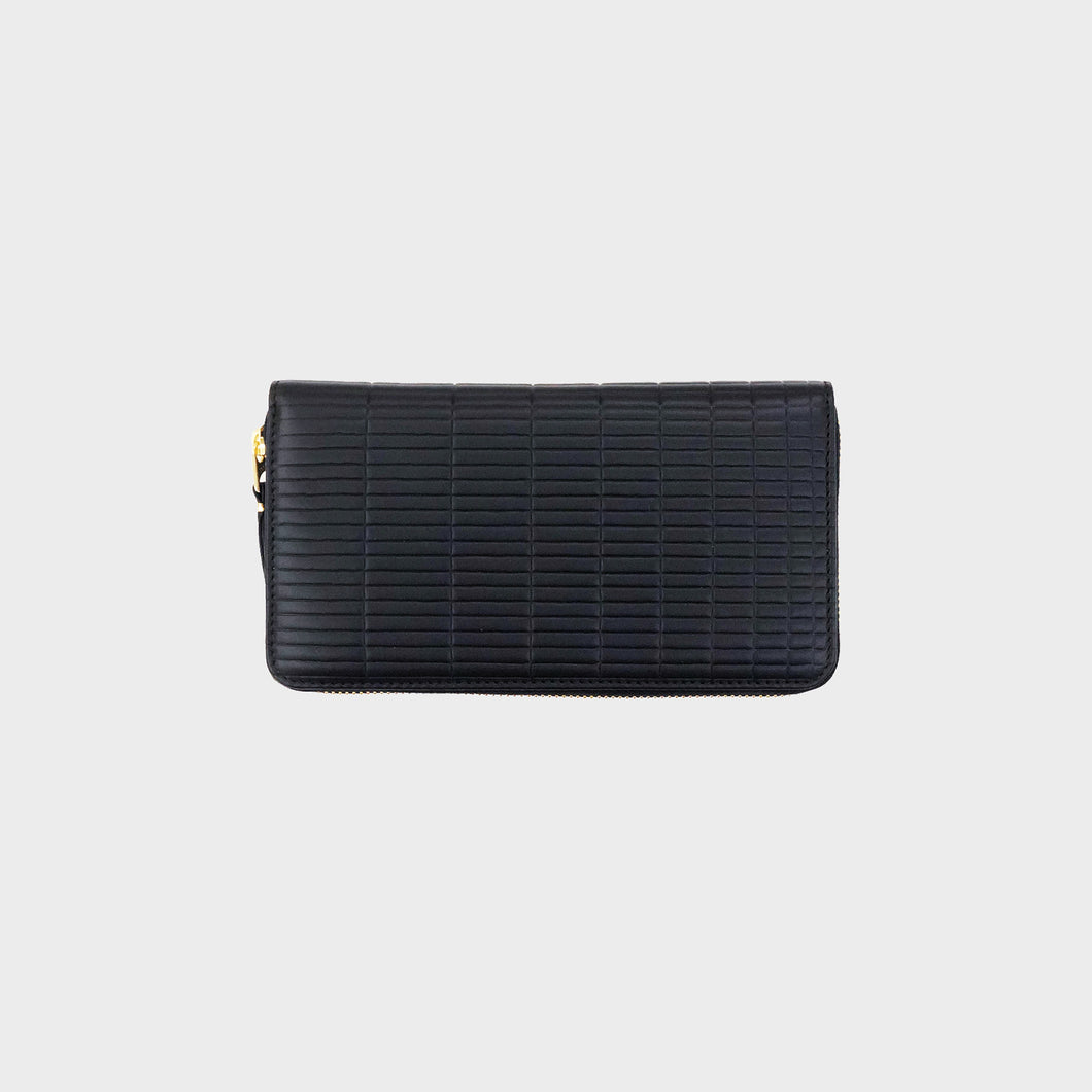 CdG Wallet / BRICK LINE LONG WALLET(BLACK)