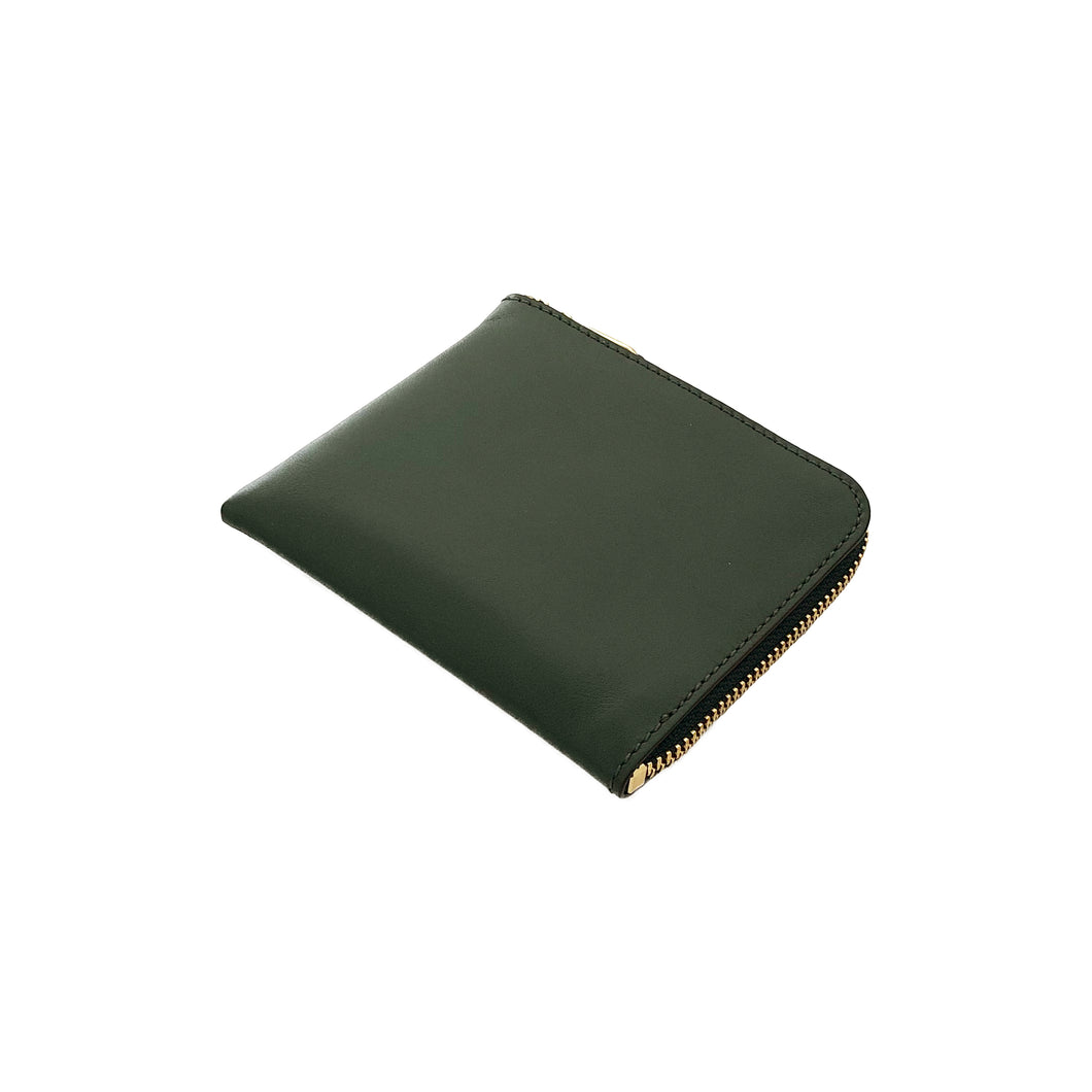 Wallet COMME des GARCONS / CLASSIC LEATHER LINE COIN CASE (BOTTLE GREEN)