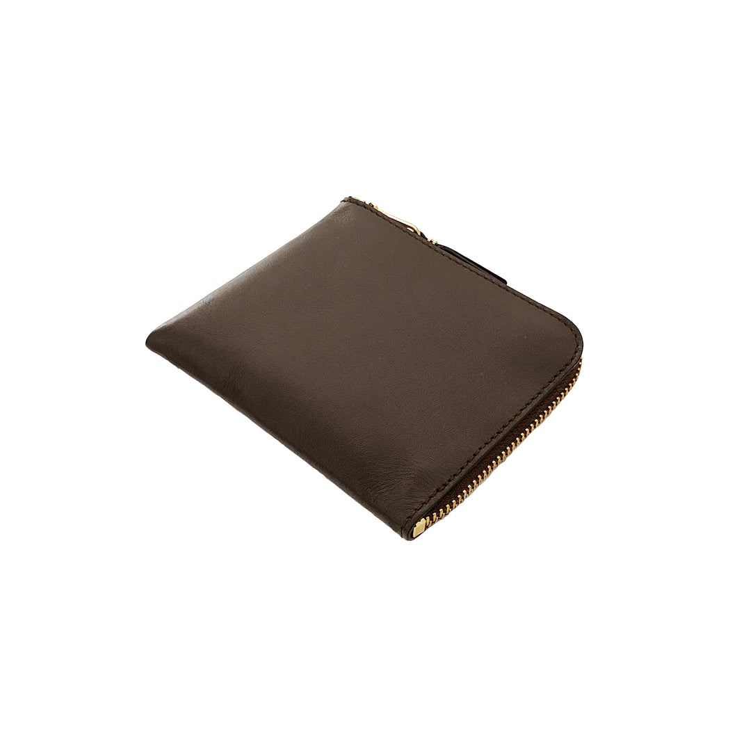 Wallet COMME des GARCONS / CLASSIC LEATHER LINE COIN CASE (BROWN)