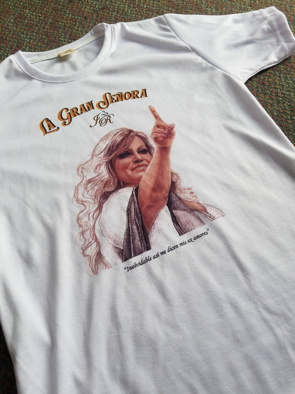 "Playera Jenni Rivera ""Inolvidable"""