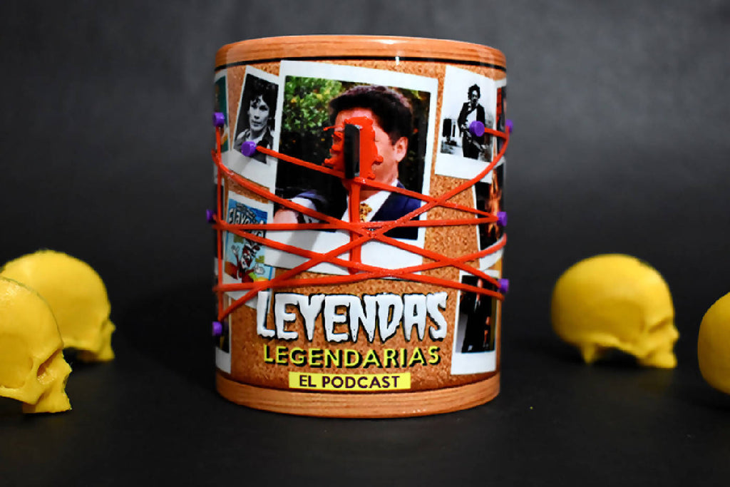 KILLER BOARD TAZA 3D LEYENDAS LEGENDARIAS