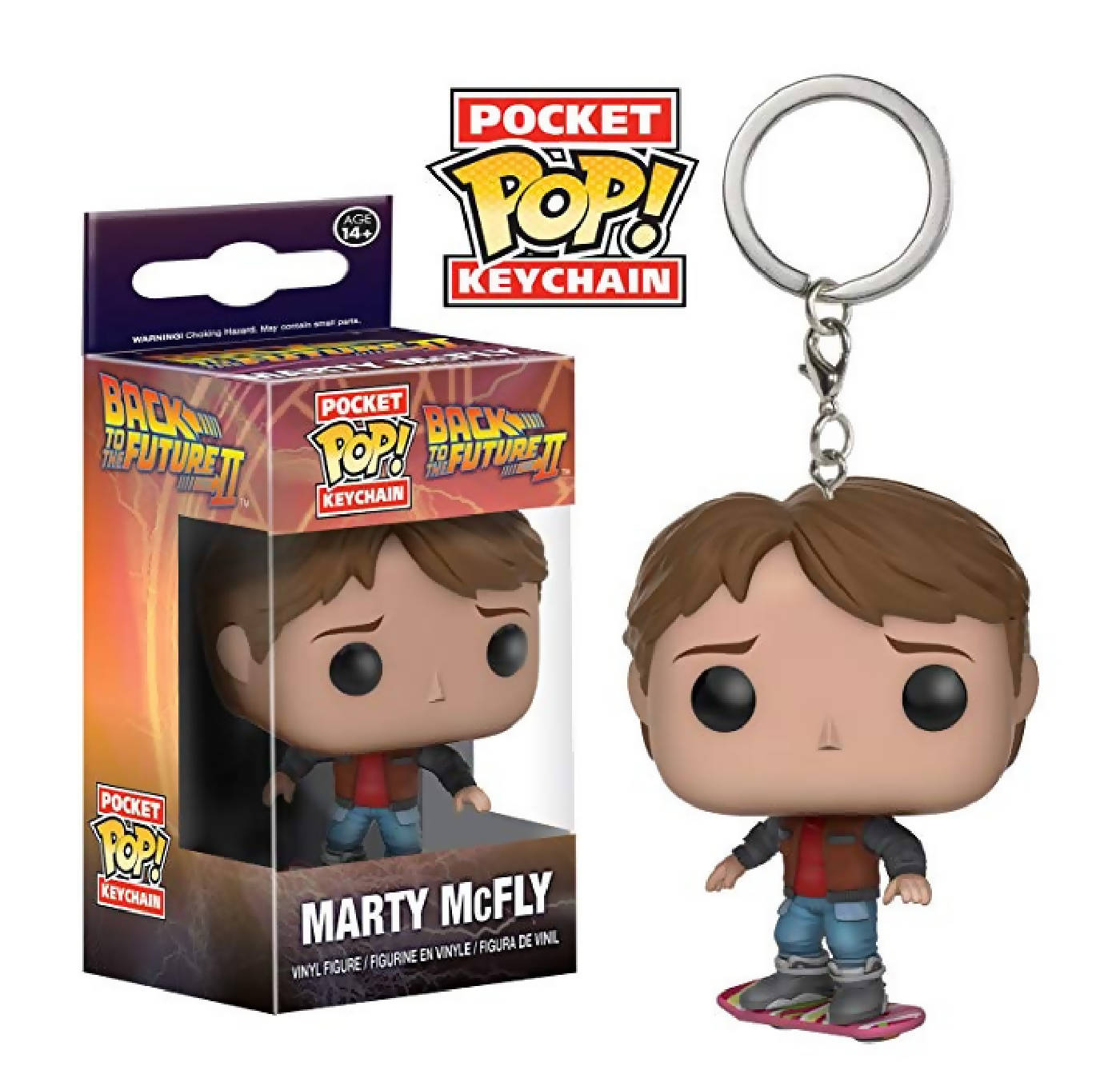 Llavero Pop - MARTY McFLY