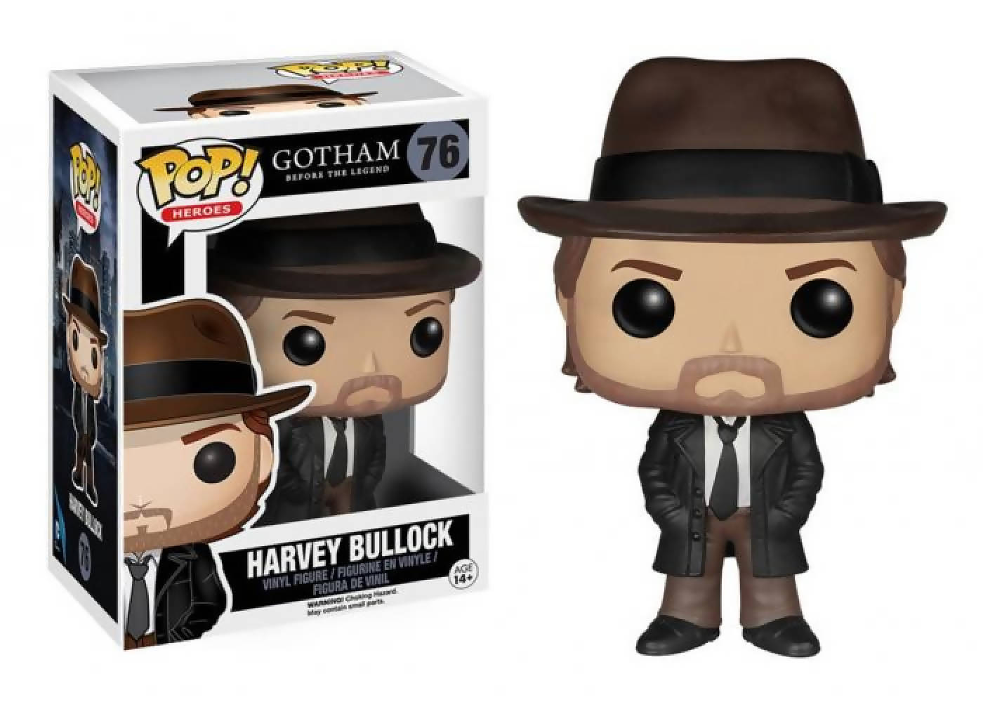 Funko Pop -HARVEY BULLOCK